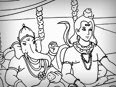Lord Shiva and Lord Ganesha