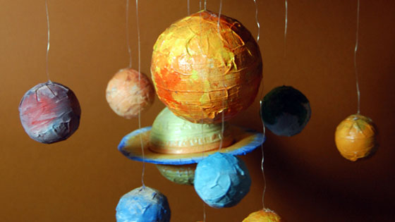Solar System Mobile Craft Ideas For Kids Mocomi