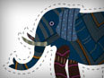 Elephant (Cut-out for Kids)