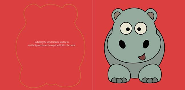 Hippo says Thank You (Printable Card for Kids)