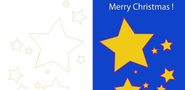 Merry Christmas ! (Printable Card for Kids)