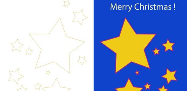 Merry Christmas ! (Printable Card for Kids)