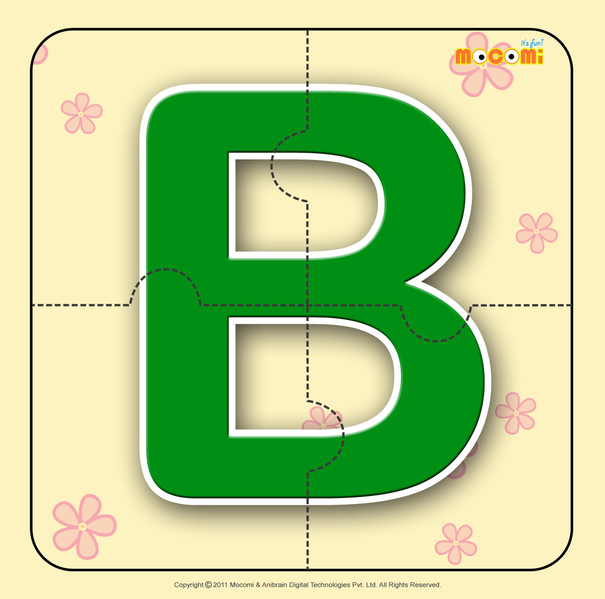Alphabet B - Alphabet Jigzaw Puzzles for Kids | Mocomi