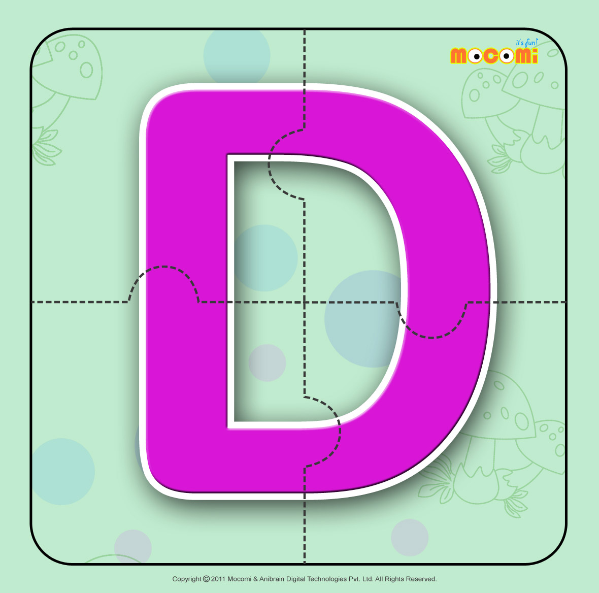 alphabet d alphabet jigzaw puzzles for kids mocomi
