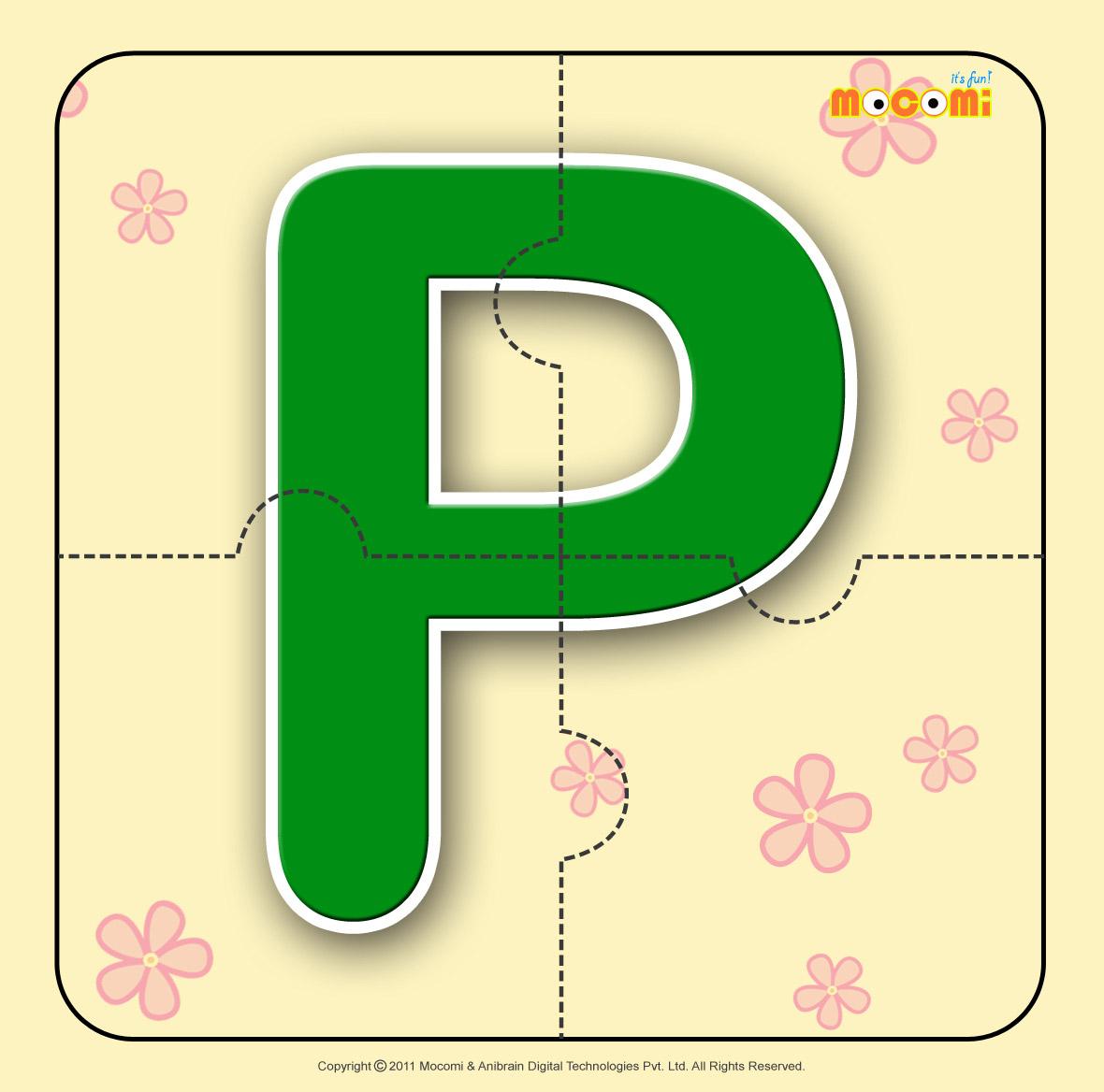Alphabet P