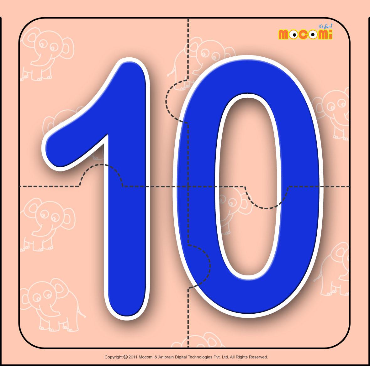 Number – Ten 10