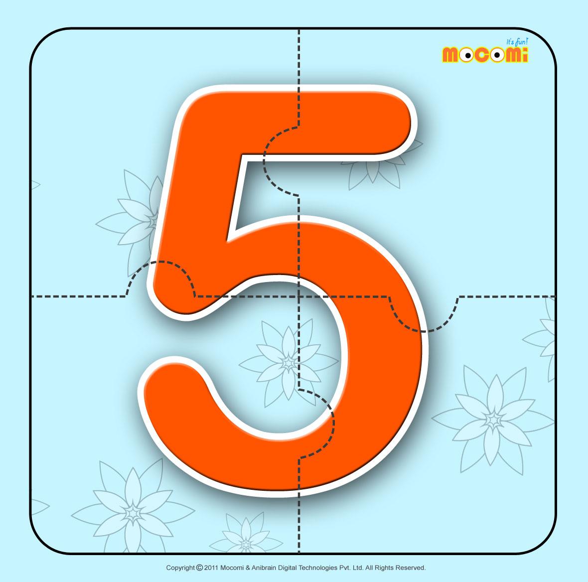 Number – Five 5