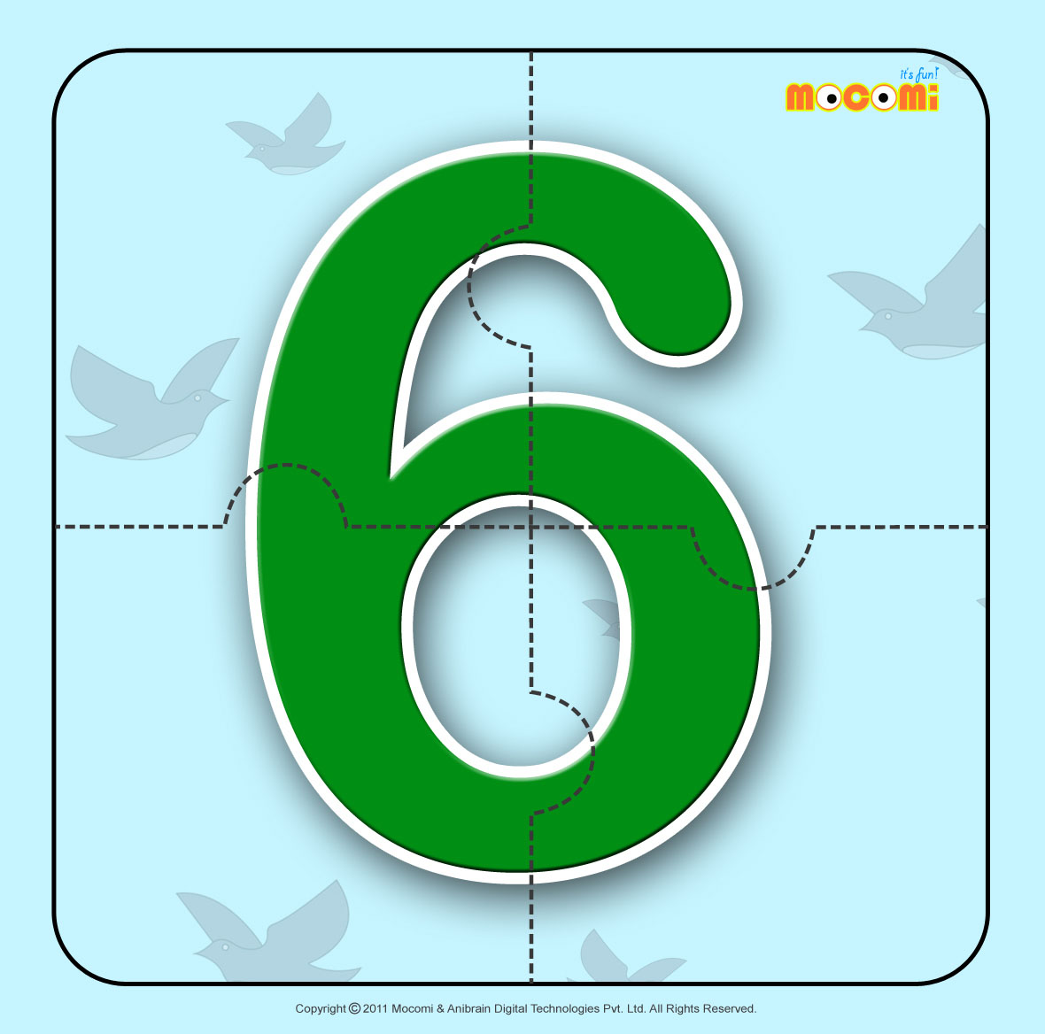 Number – Six 6