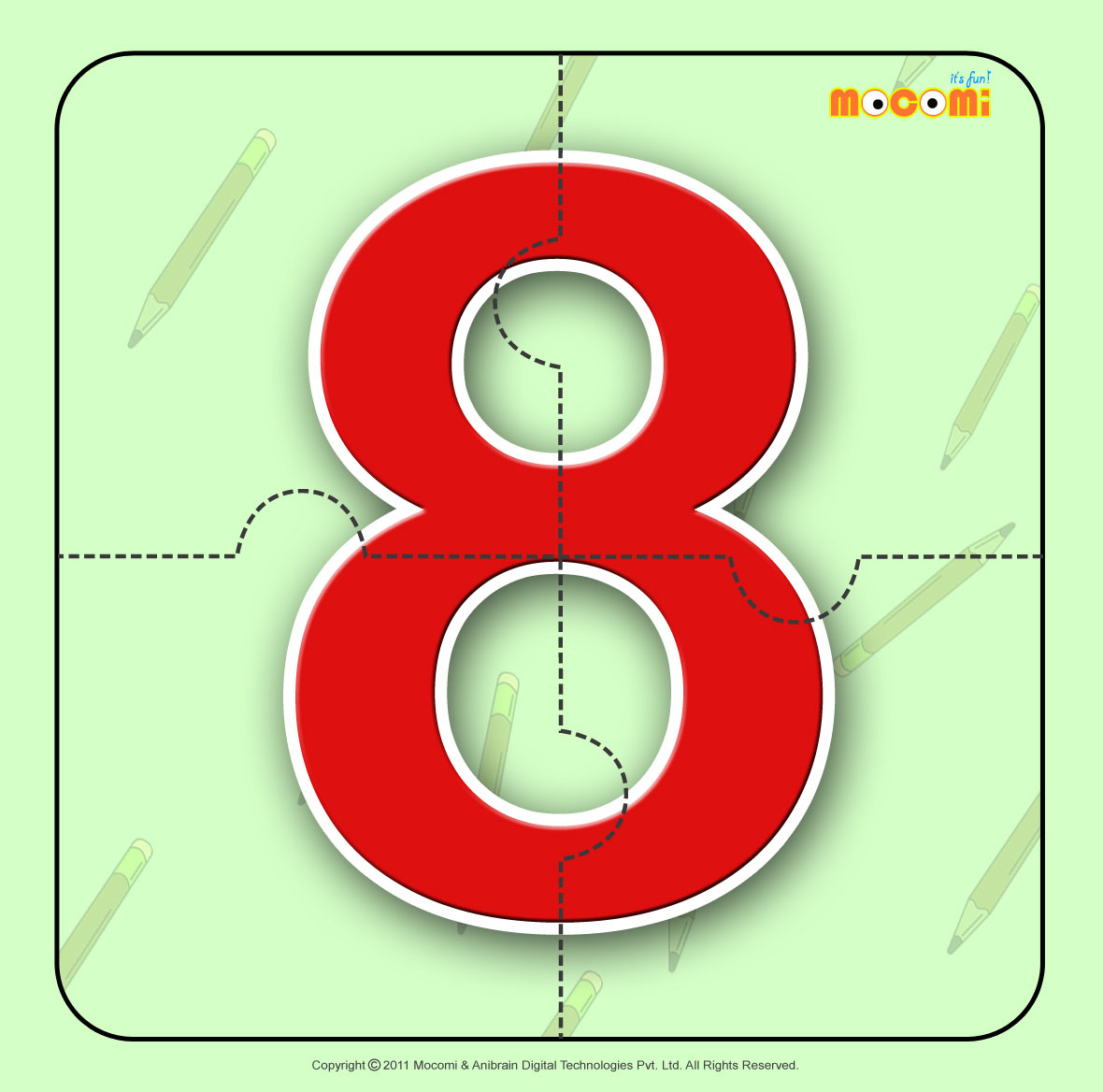 Number – Eight 8