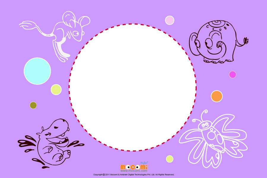 Hippo (Photo Frame for Kids)