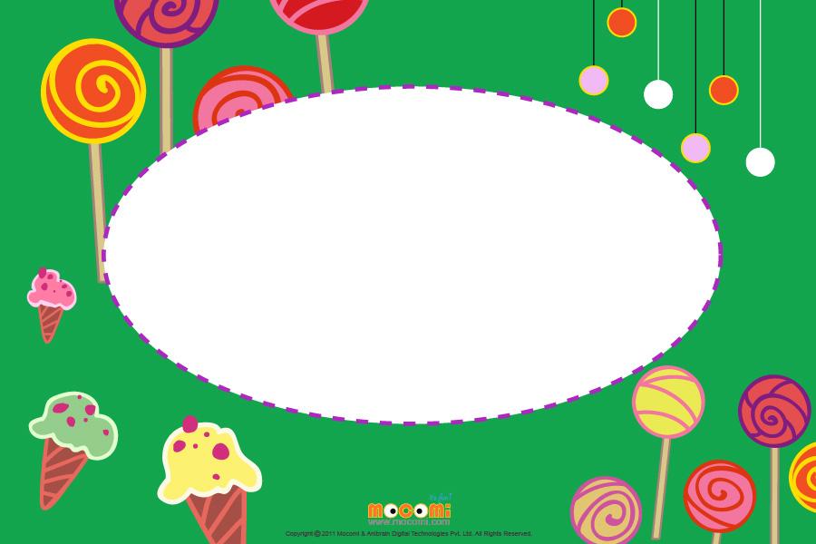 Ice Cream (Photo Frame for Kids)