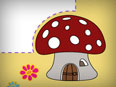 Mushroom (Photo Frame for Kids)