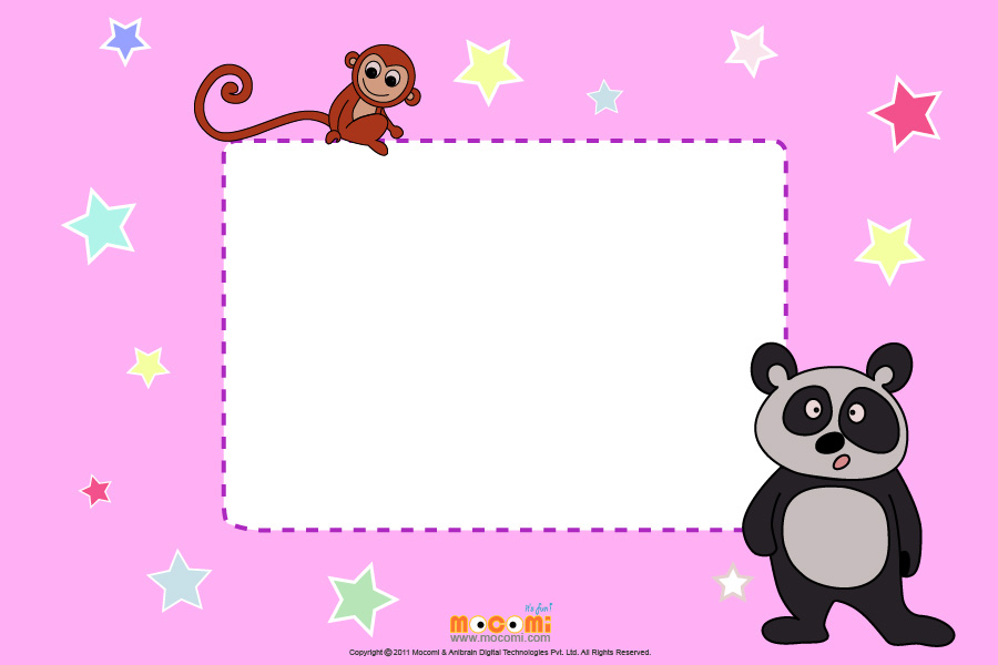 Panda (Photo Frame for Kids)