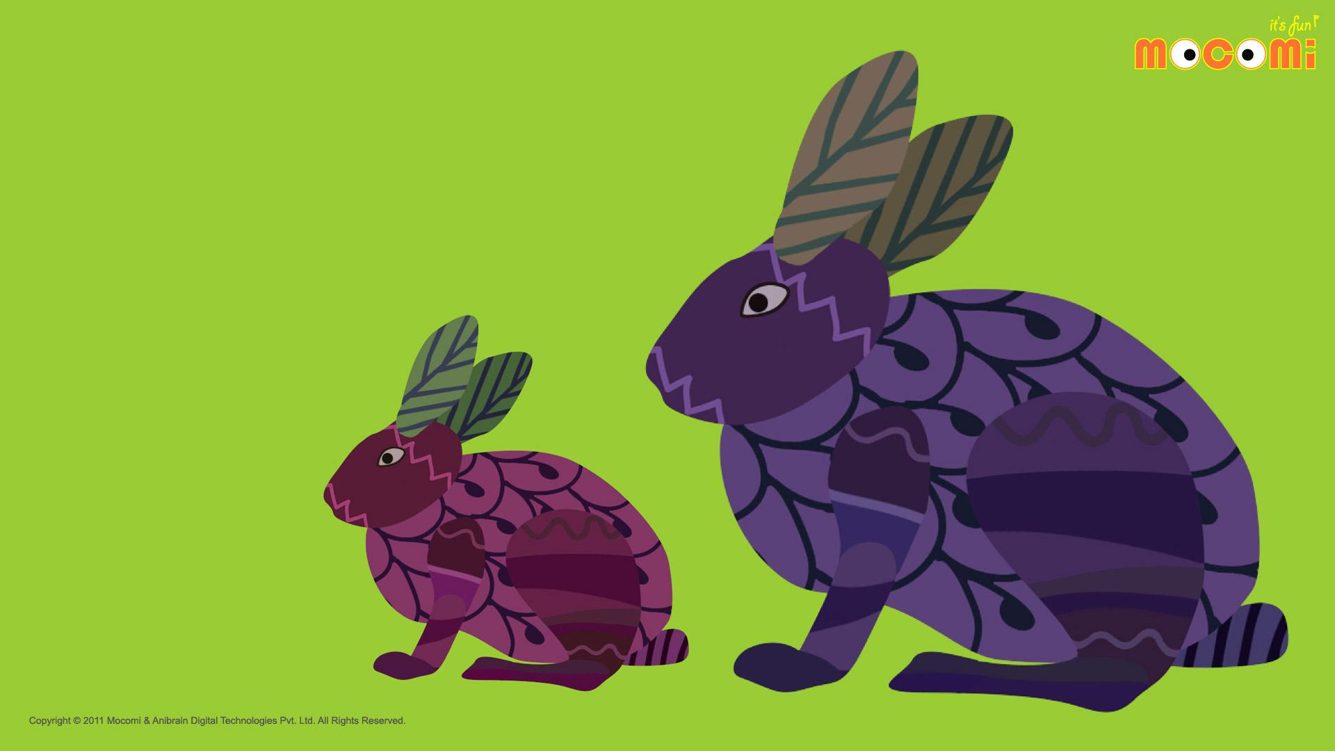 Gond Rabbits