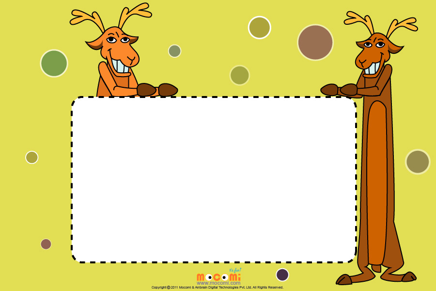 Reindeer (Photo Frame for Kids)