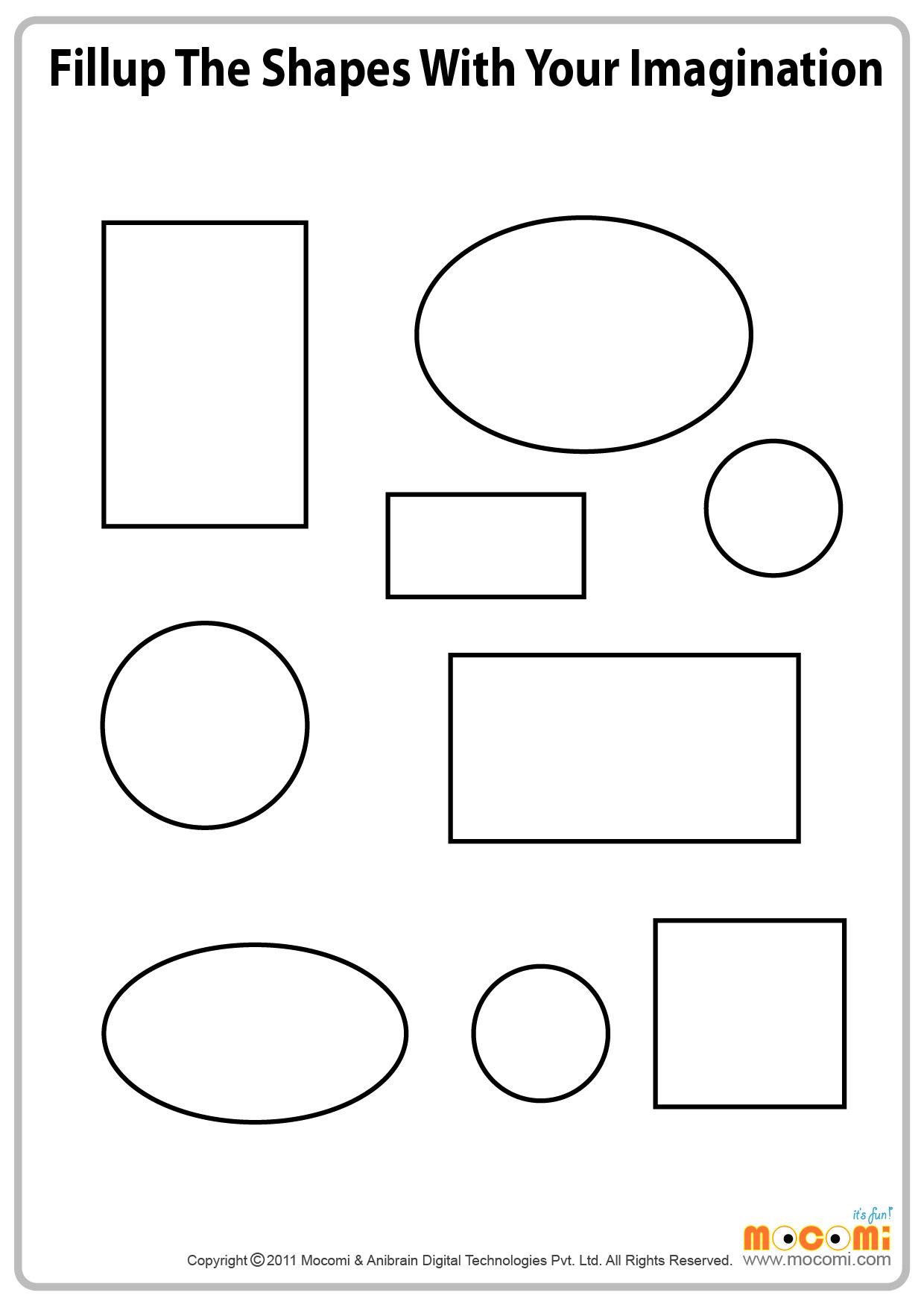 Imagining shapes (II)