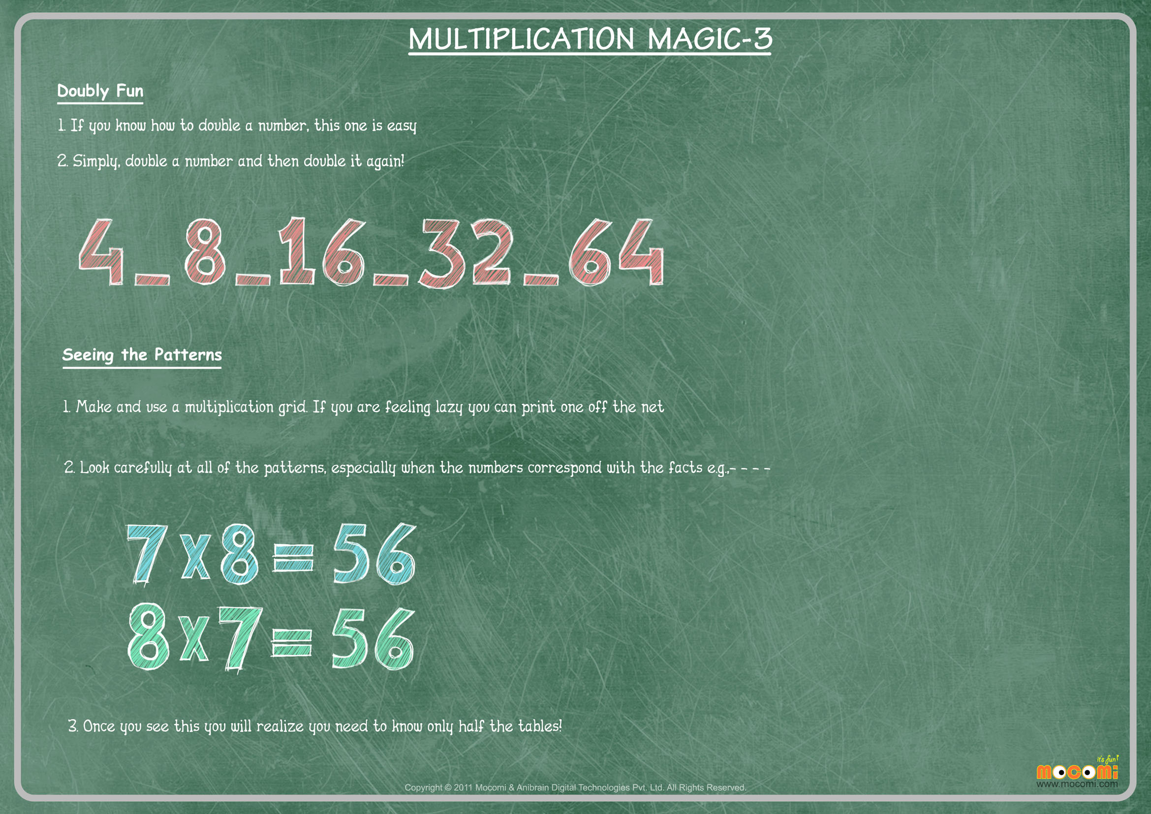 Learn to Multiply – Part 3
