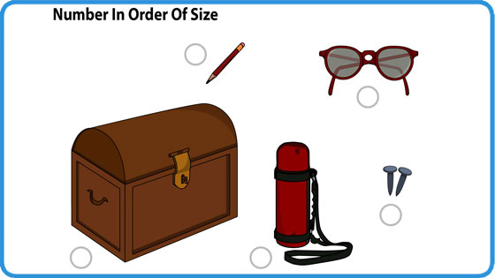 Order and size (II)