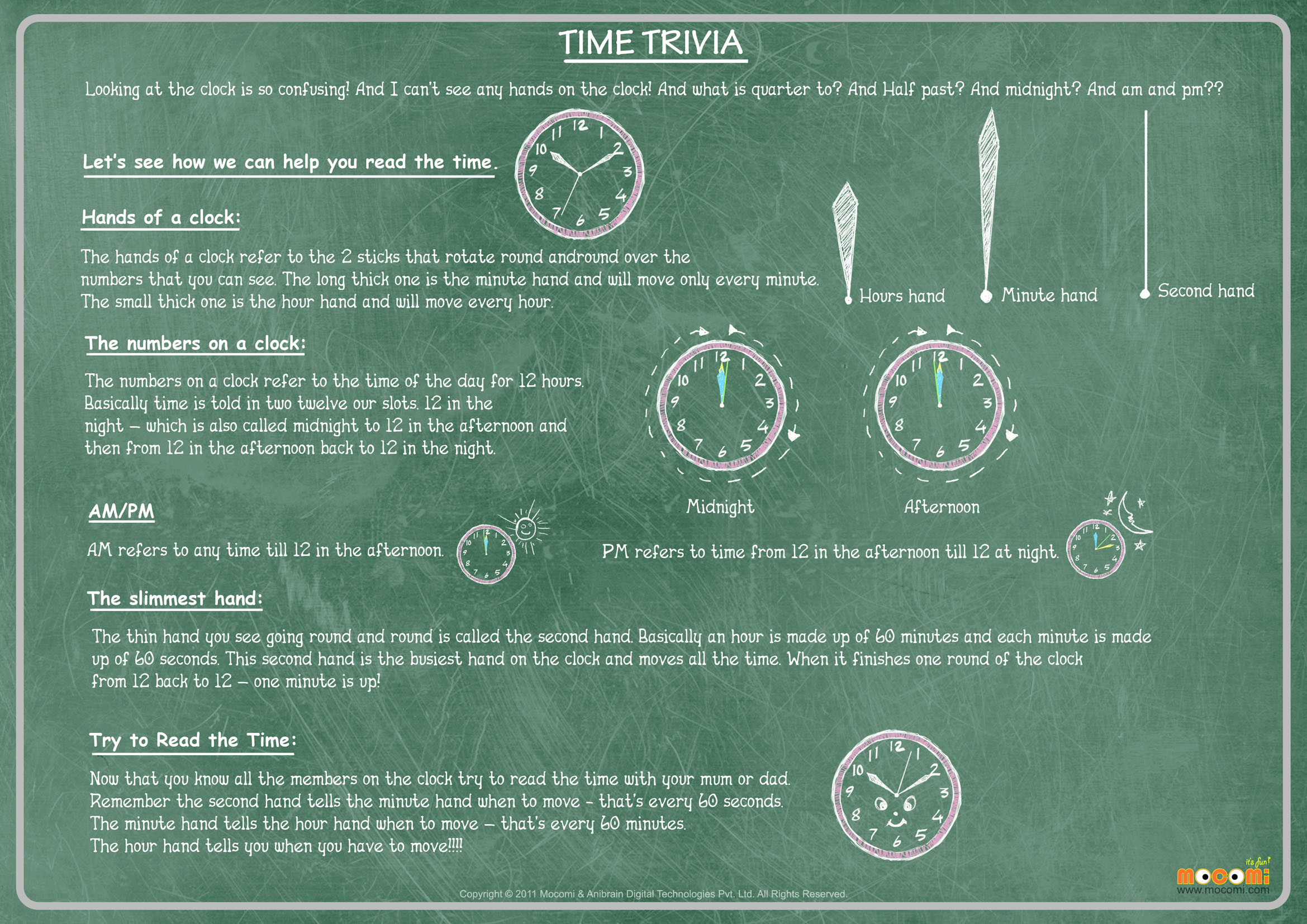 Time Trivia – Facts About Time