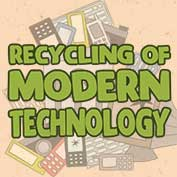 Recycling Of Modern Technology