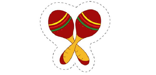 Maracas (Cut-out for Kids)