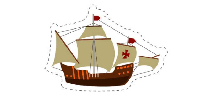 Ship (Cut-out for Kids)