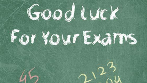 Exam Success (Printable Card for Kids)