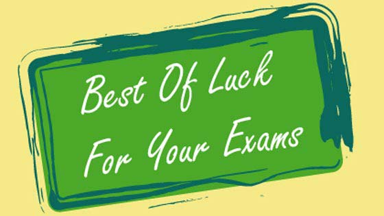 Goodluck Greetings (Printable Card for Kids)