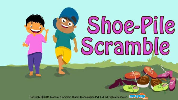 Shoe Pile Scramble