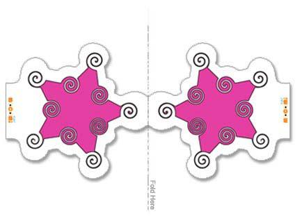 Spiral And Star Design