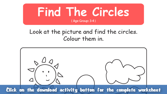 Find Shapes – Circles