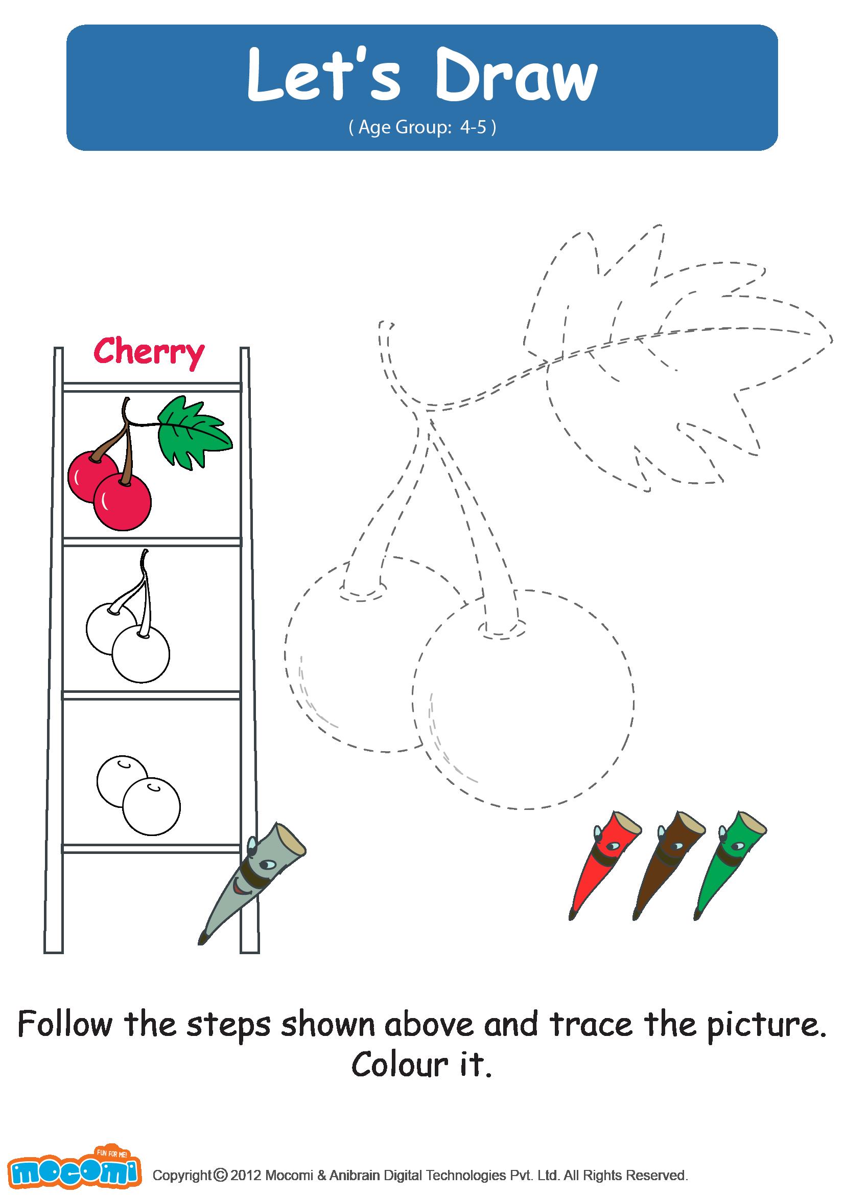 Let's Draw Cherries
