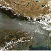The Great North Indian Haze