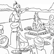 Lord Krishna – Colouring Page