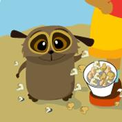 Popcorn Relay Race