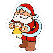 Santa and Friends (Cut-out for Kids)