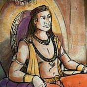 King Harshavardhana