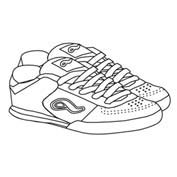 Shoes - Colouring Page