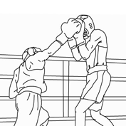 Rangoli pattern colouring pages for kids mocomi for Boxing coloring pages