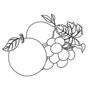 Mangoes and Grapes