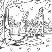 Lord Rama 2 – Colouring Page