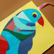 Scrap Paper Parrot