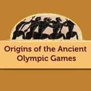 Origins Of Ancient Olympic Games