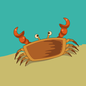 Why do Crabs walk Sideways?