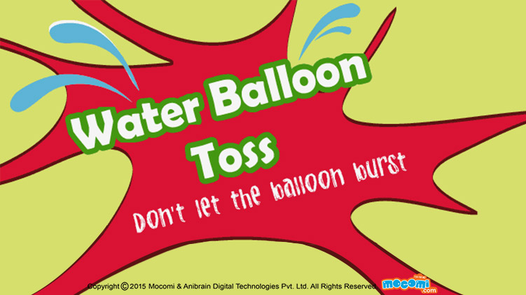 Water Balloon Toss