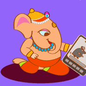 Happy Ganesh Chaturthi! 04 (Printable Card for Kids)
