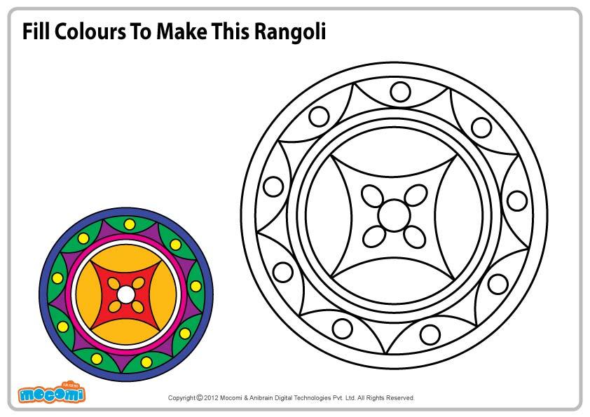 Pattern for Rangoli