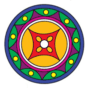 Pattern for Rangoli