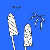 DIY Diwali Rockets (Printable Card for Kids)