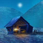Christmas Nativity (Printable Card for Kids)